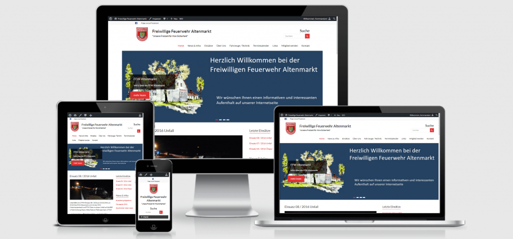 Beitrag neue Homepage