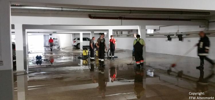 Einsatz 24 und 25 2016 Überschwemmungen