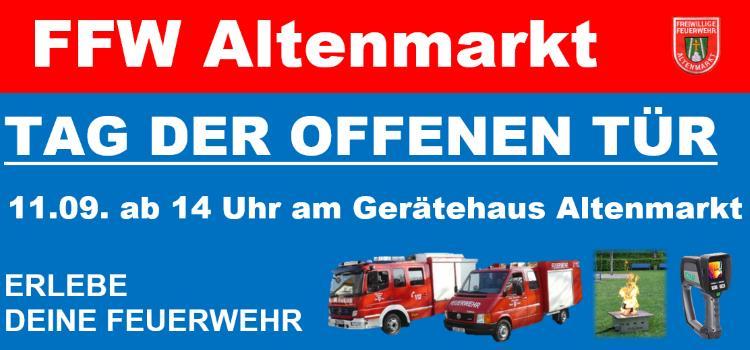 Tag der offenen Tür 2016 FFW Altenmarkt
