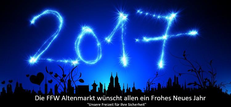 FFW Altenmarkt Silvester Frohes Neues Jahr 2017