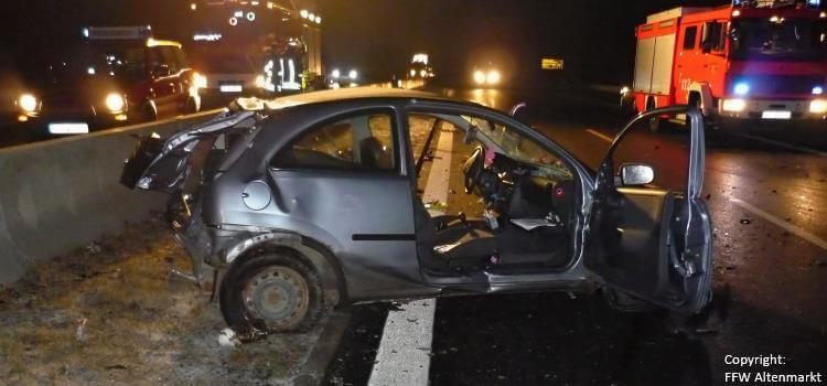 Einsatz 3 2017 Verkehrsunfall B85