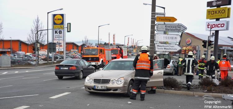 Verkehrsunfall Mittelweg