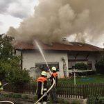 01_Einsatz 33 2017 Wohnhausbrand Ried am Pfahl