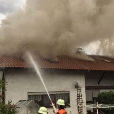 Einsatz 33 / 2017 Wohnhausbrand