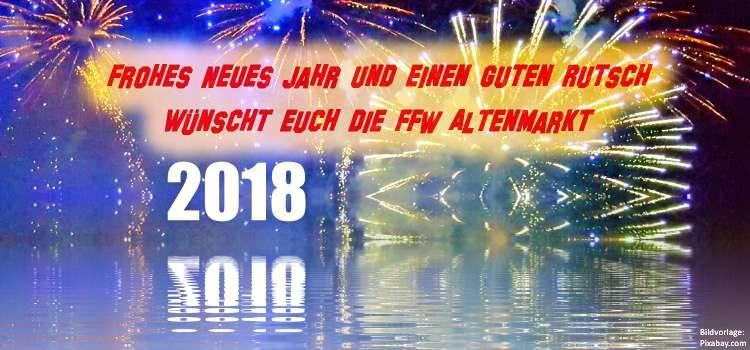 Frohes Neues Jahr 2018 Beitragsbild