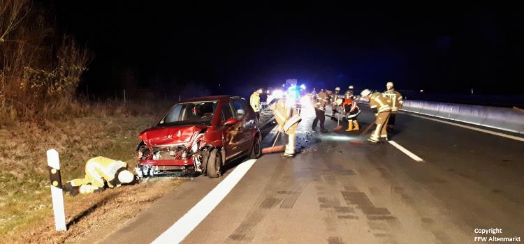 Einsatz 38 2018 Verkehrsunfall B85 Untertraubenbach Beitragsbild