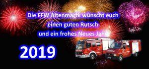 Frohes Neues Jahr Silvester 2019 FFW Altenmarkt Beitragsbild