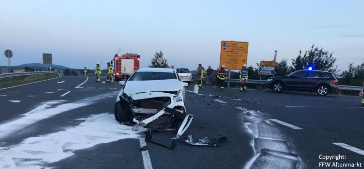 Einsatz 13 / 2019 Verkehrsunfall Altenmarkt