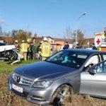 Einsatz 28 / 2019 Verkehrsunfall Scharlau