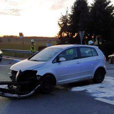 Einsatz 15 / 2020 Verkehrsunfall B20 Höfen