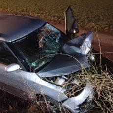 Einsatz 18 / 2020 Verkehrsunfall Wilfried-Ensinger-Straße