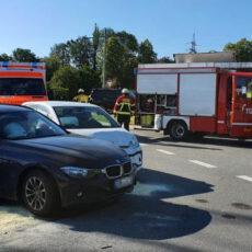 Einsatz 27 / 2020 Verkehrsunfall Bgm.-Schwinghammer Straße