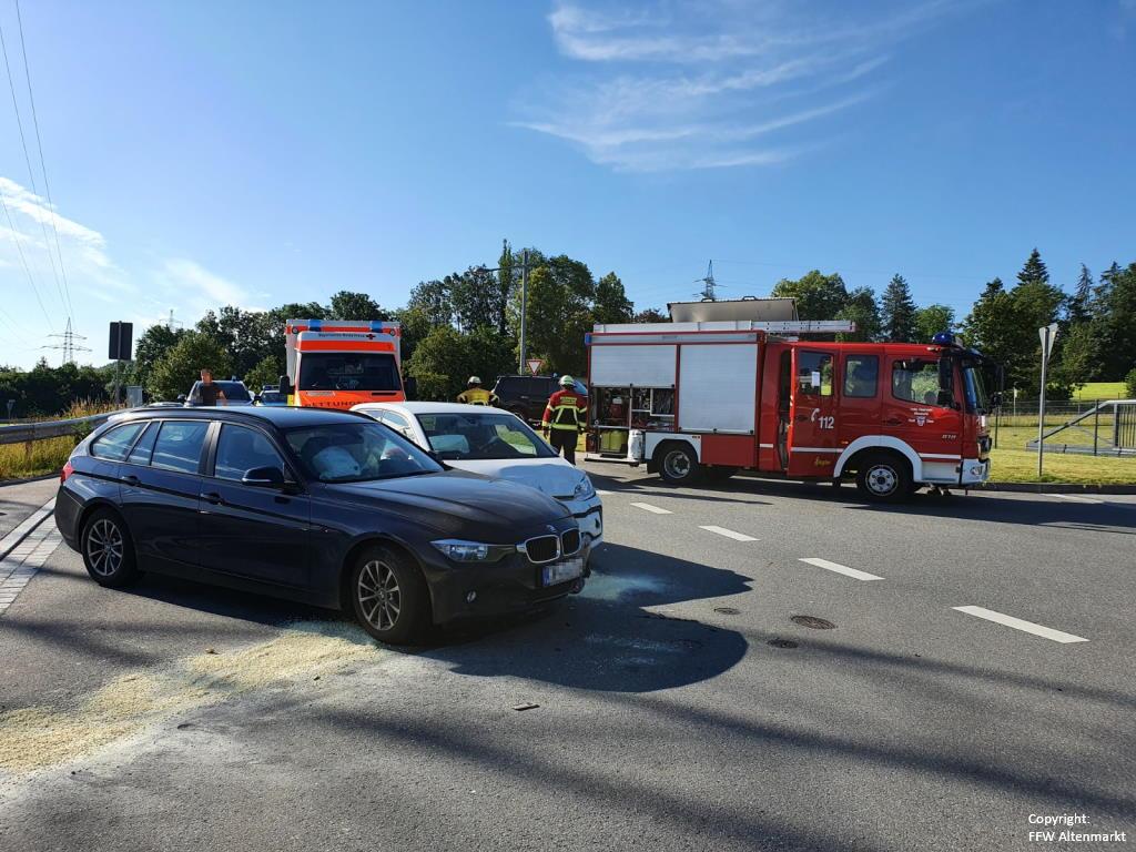 Einsatz 27 2020 Verkehrsunfall Bgm Schwinghammer Straße_1
