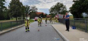 Einsatz 20 2020 Glasscherben auf Straße bei Michelsdorf Beitragsbild