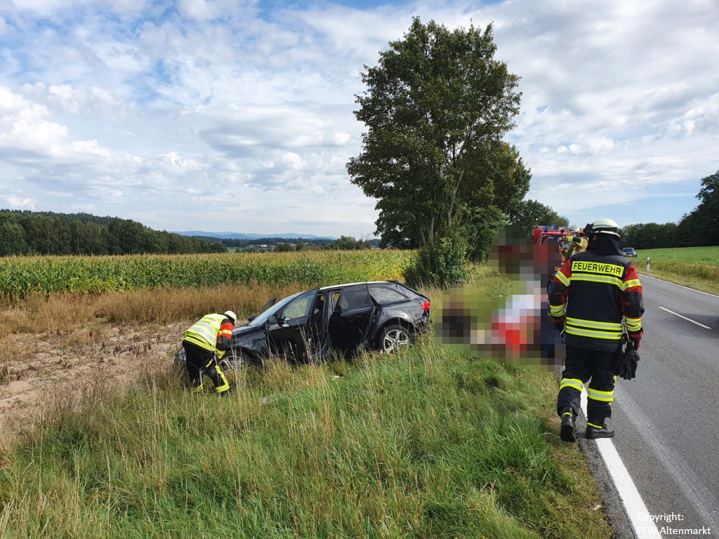 Einsatz 38 2020 Verkehrsunfall Radling