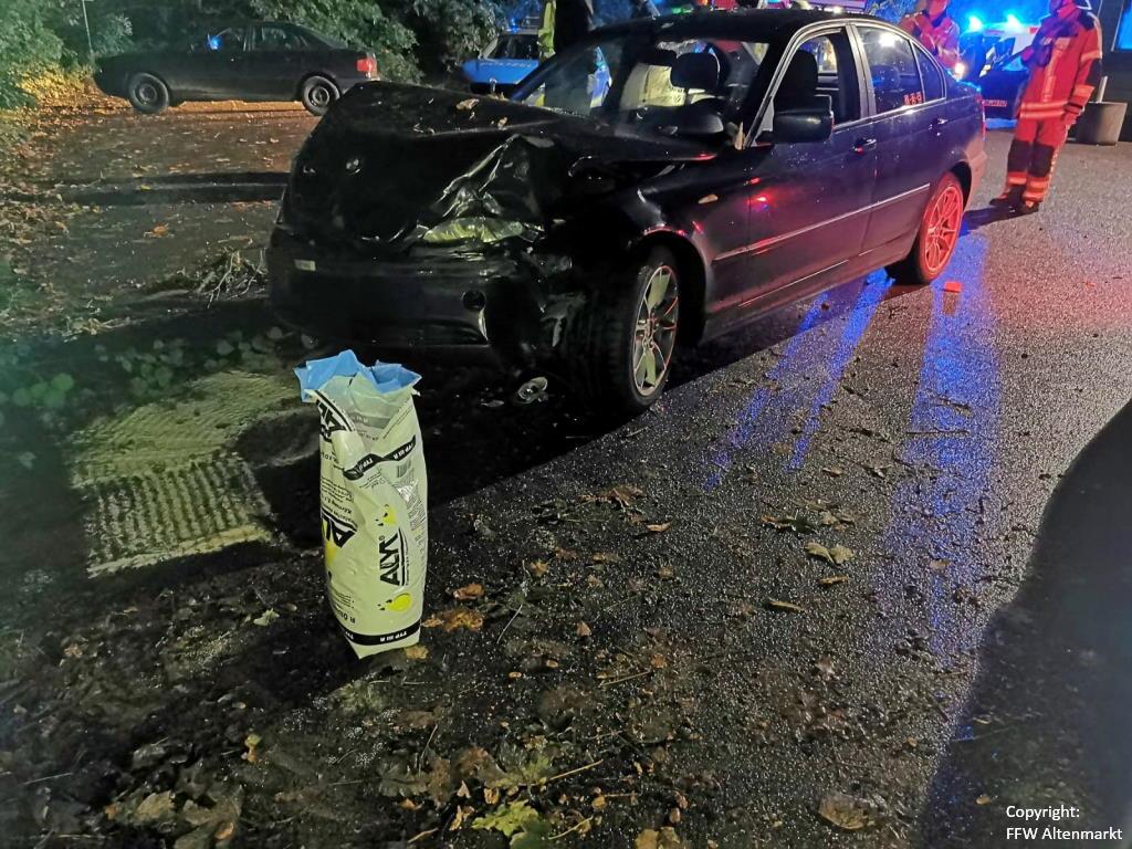 Verkehrsunfall Cham
