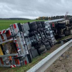 Einsatz 46 / 2020 Verkehrsunfall LKW