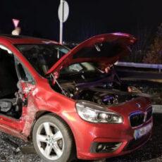 Einsatz 51 2020 Verkehrsunfall Cham Süd Person eingeklemmt Beitragsbild