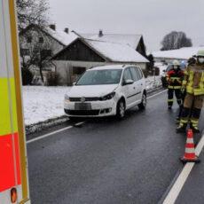 Einsatz 03 / 2021 Verkehrsunfall B20 Höfen
