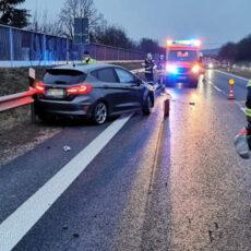 Einsatz 05 / 2021 Verkehrsunfall B85 E-Call