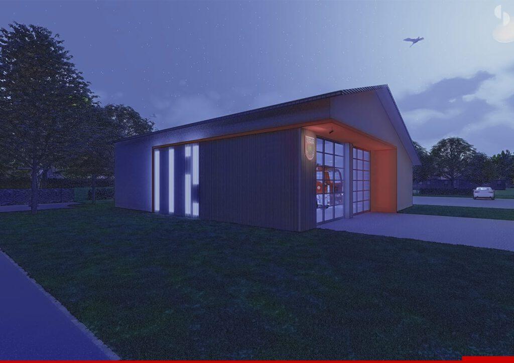 Neubau Feuerwehrgerätehaus FFW Altenmarkt (1)