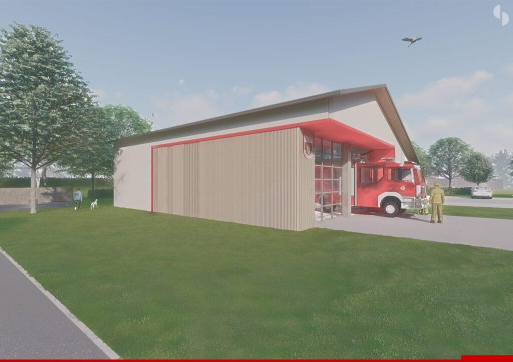 Neubau Feuerwehrgerätehaus FFW Altenmarkt (2)