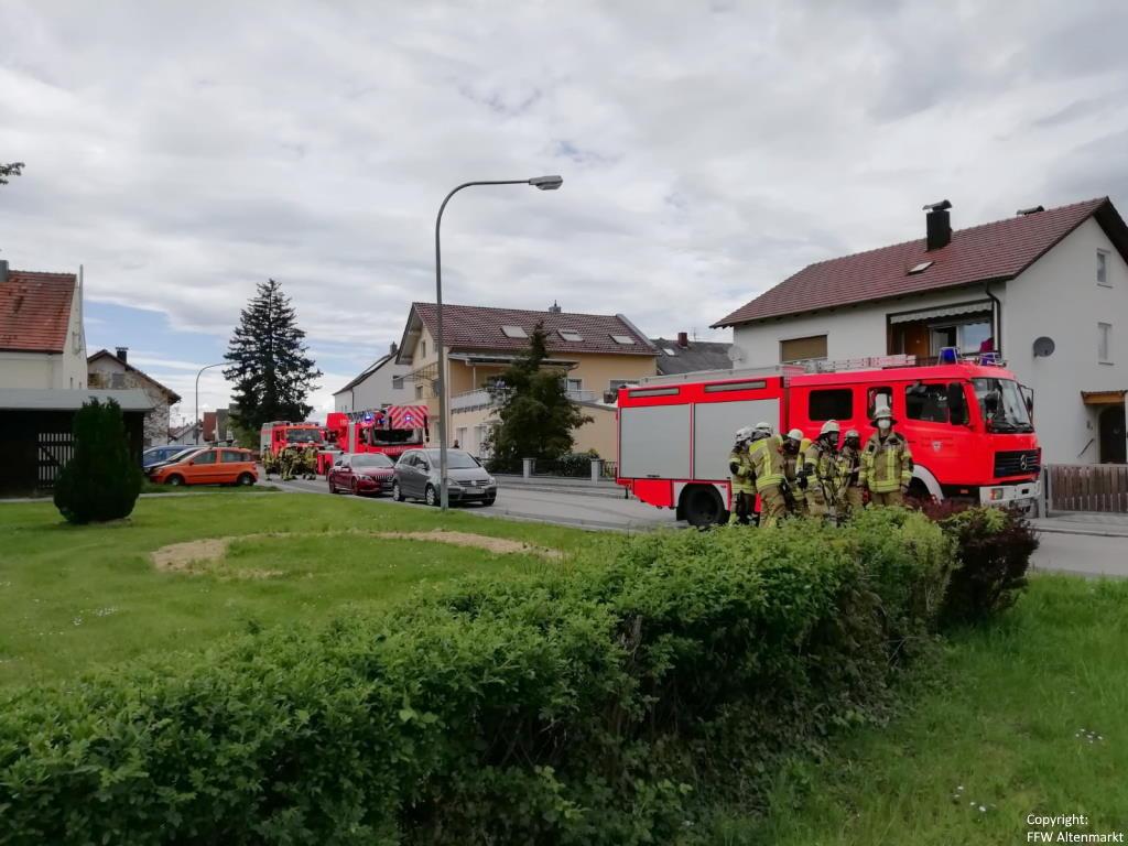 Einsatz 18 2021 Rauchentwicklung Michelsdorf (2)