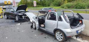 Einsatz 19 2021 Schwerer Verkehrsunfall B85 - Geisterfahrer (1)
