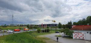 Einsatz 19 2021 Schwerer Verkehrsunfall B85 - Geisterfahrer (2)