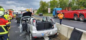 Einsatz 19 2021 Schwerer Verkehrsunfall B85 - Geisterfahrer (3)