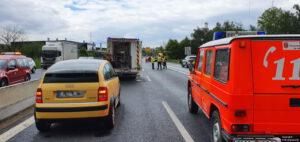 Einsatz 19 2021 Schwerer Verkehrsunfall B85 - Geisterfahrer (4)