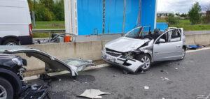Einsatz 19 2021 Schwerer Verkehrsunfall B85 - Geisterfahrer (6)