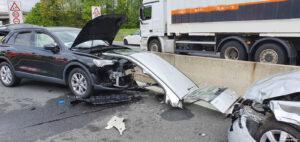 Einsatz 19 2021 Schwerer Verkehrsunfall B85 - Geisterfahrer (7)