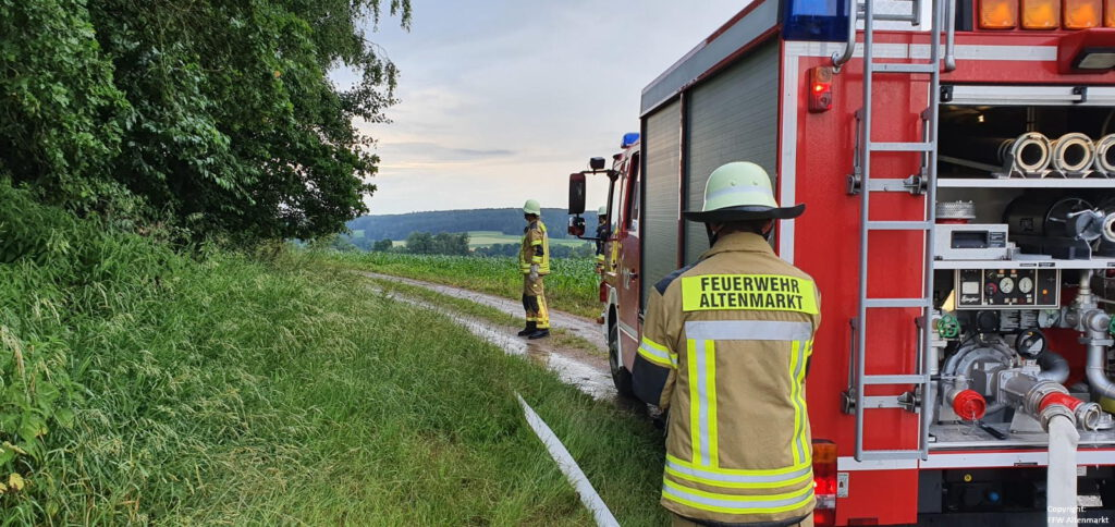 Waldbrand - Gemeinschaftsübung Penting (6)