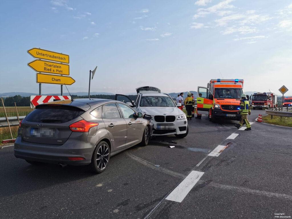 Einsatz 29 2021 Verkehrsunfall Nebenstraße B85 (2)