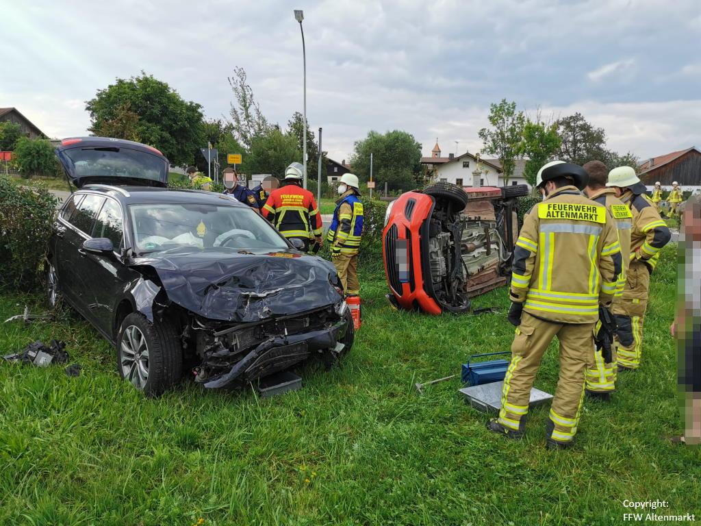 Einsatz 31 2021 Verkehrsunfall Scharlau (1)