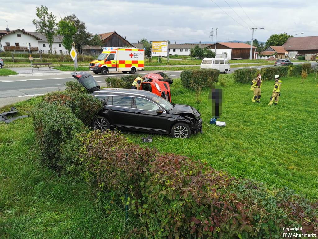 Einsatz 31 2021 Verkehrsunfall Scharlau (3)