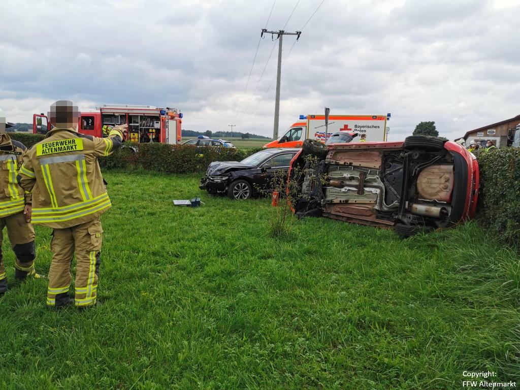 Einsatz 31 2021 Verkehrsunfall Scharlau (5)