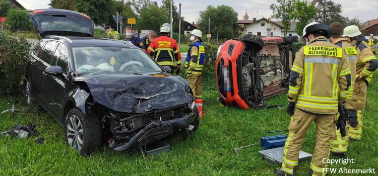Einsatz 31 / 2021 Verkehrsunfall Scharlau